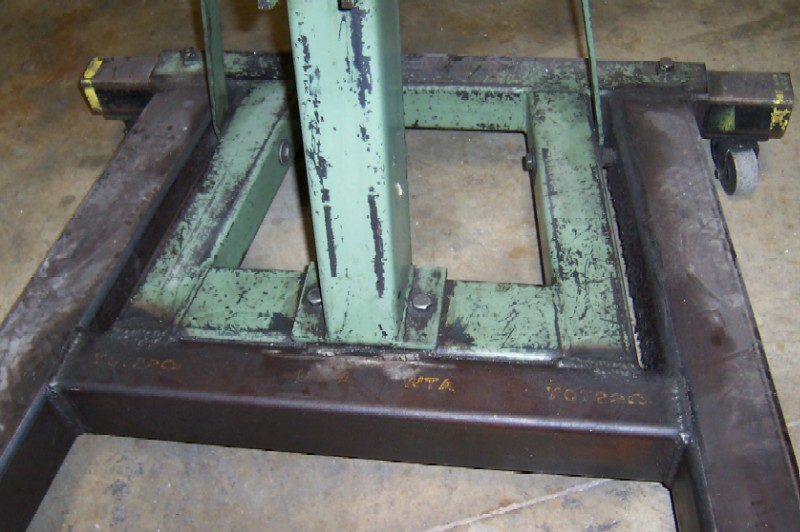 Engine Hoist Cherry Picker Structural Repair