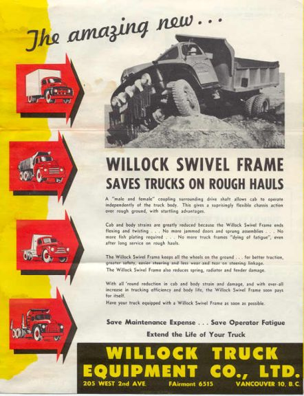 Willock Swivel Frame Rebuild