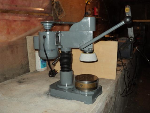 Home Made Surface Blanchard Grinder