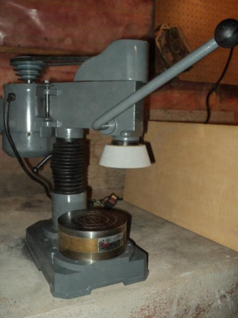 Bench Grinder And Lathe