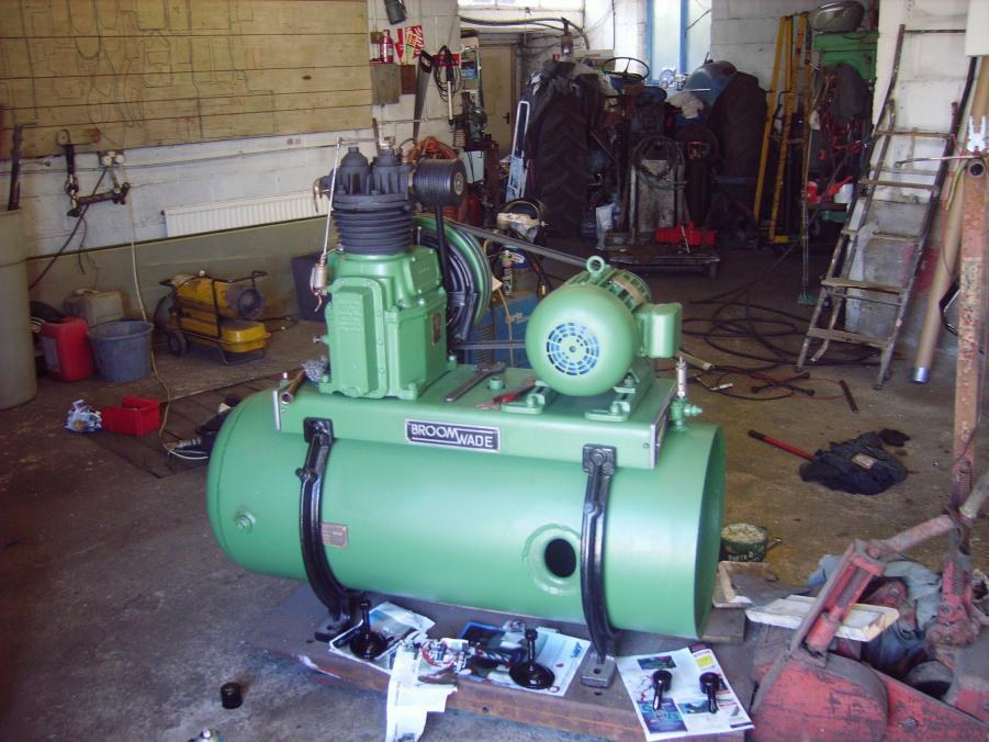 Devilbiss Air Compressor Pump A Big One