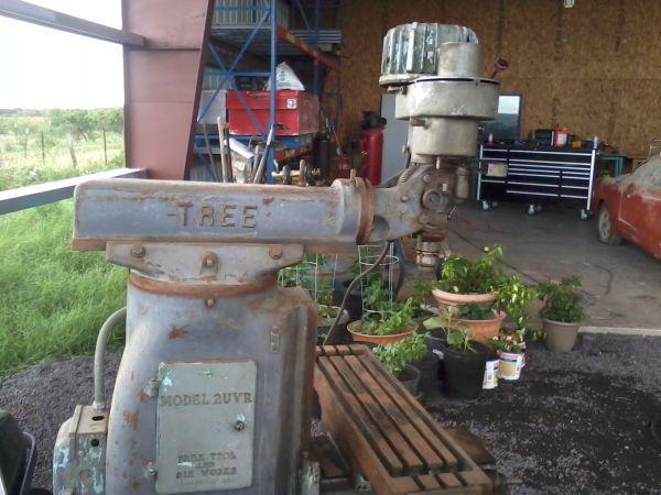 tree 2uvr milling machine