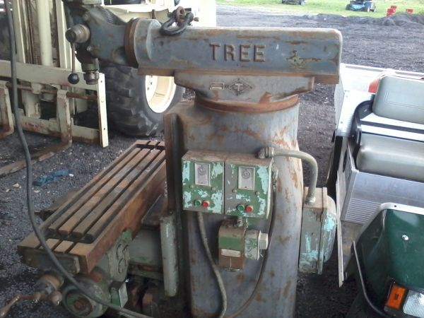 How Much Is Titanium Worth >> Got my eye on an old Tree Milling machine