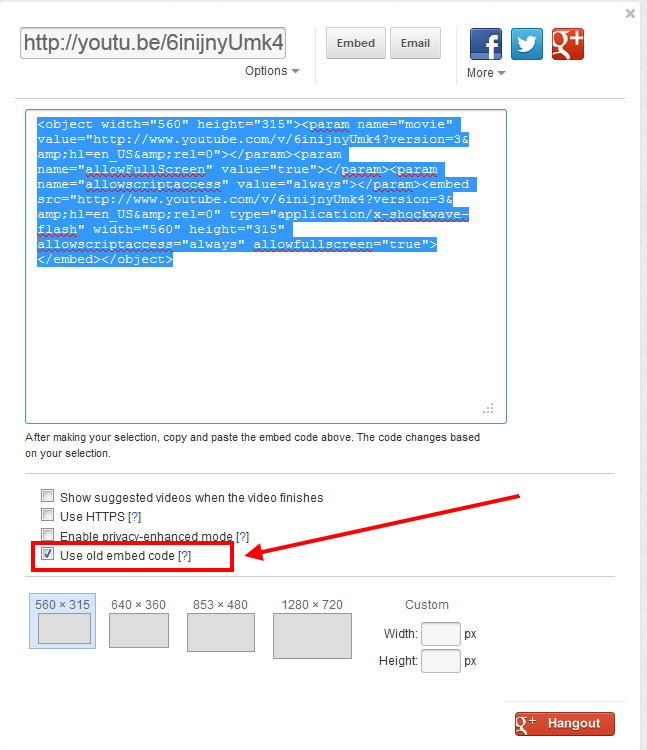 Ot how to embed youtube video in ebay ad for Embed a forum into your website
