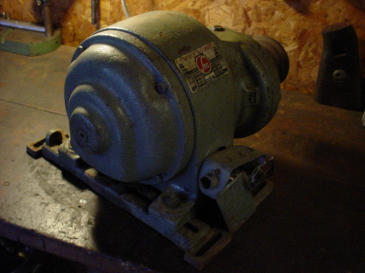 Vintage electric 3 phase big motors worth it page 2 for Antique electric motor repair
