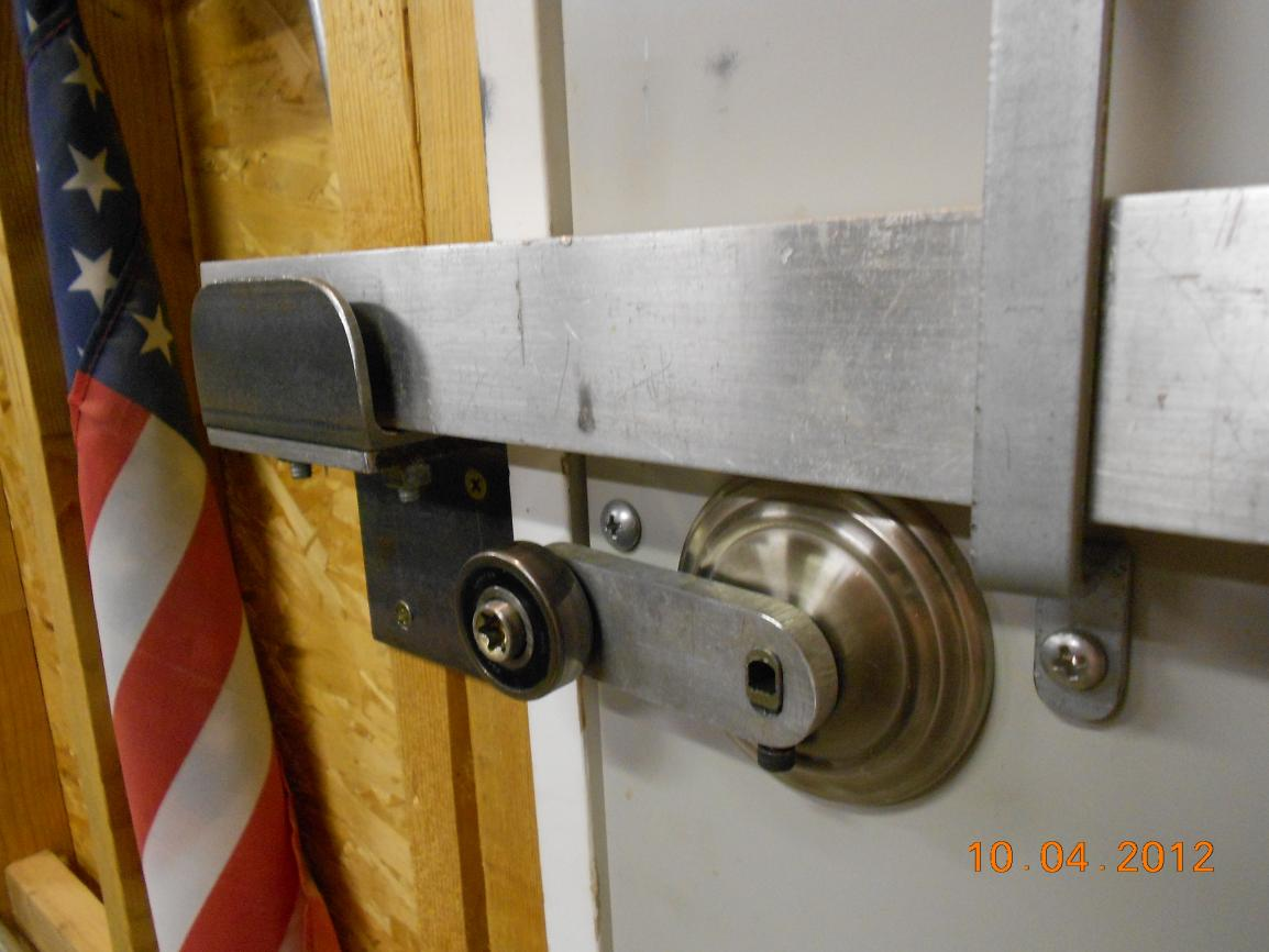 866 #6D3713 Shop Metal Doors Something Better Than Deadbolt Exist ? Page 2 picture/photo Locks For Metal Doors 7091154
