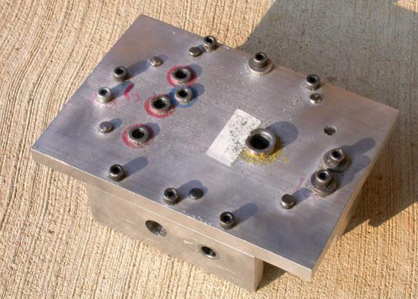 Help Building Drilling Jig Fixture