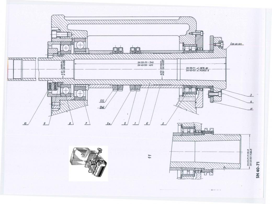 Lathe Chuck Schematic Diagram Wire Data Schema Logan Wiring Tos Sn40 Spindle Play Rh Practicalmachinist Com Axis Line