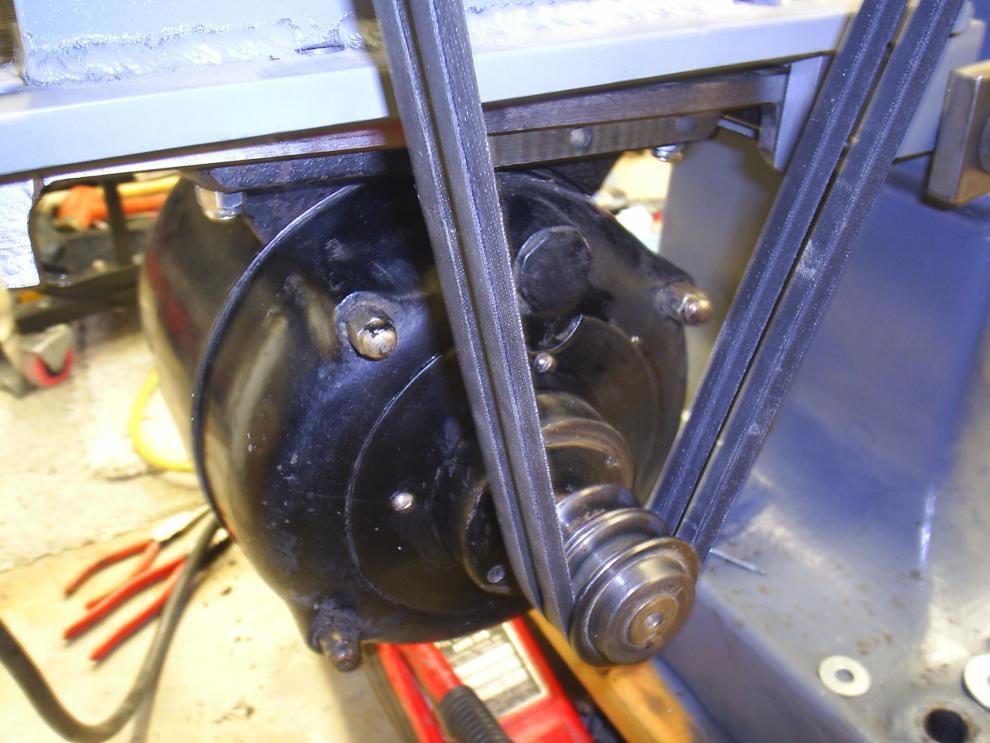 Old Ge Repulsion Induction Motor Reversing Rotation