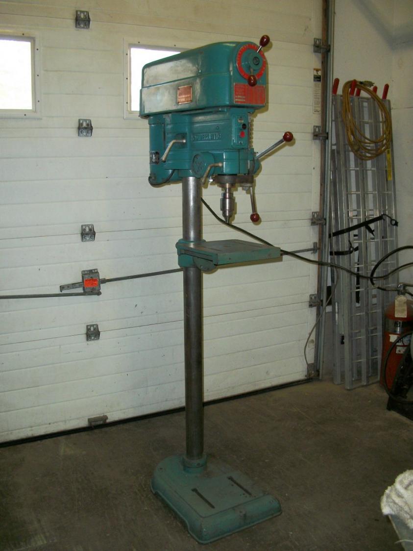 0 Apr Car >> Powermatic drill press model 1100VS