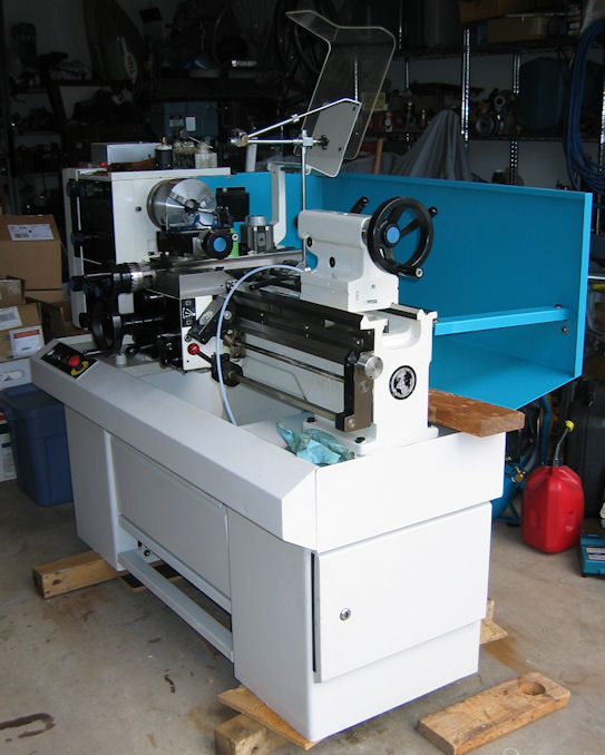 Harrison m300 lathe, weight of base cabinet
