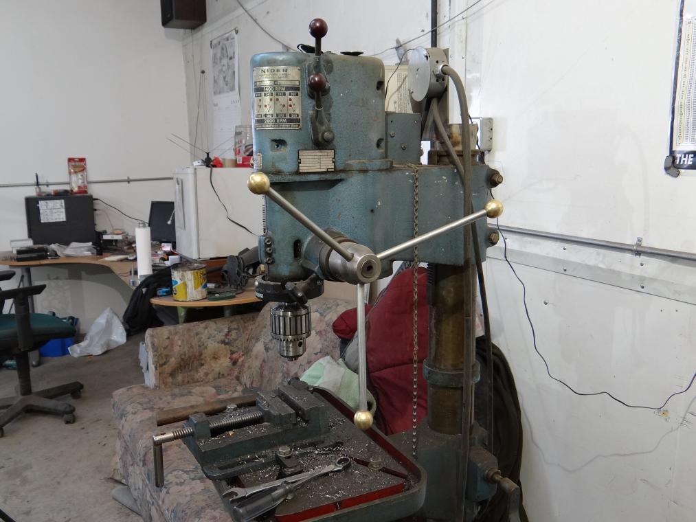 Dayton Drill mill operators manual