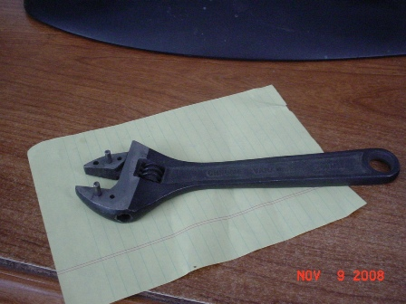 Making A Spanner Wrench