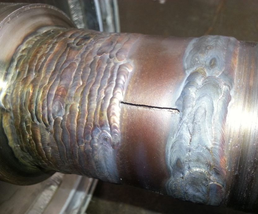 Ss Shaft Weld Repair Got Crack In Surface What To Do Now