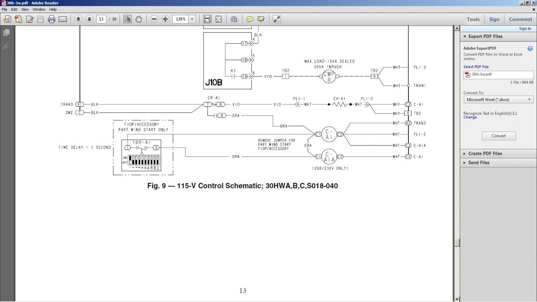 80342d1372895886 ot carrier chiller contactor problem chiller ot carrier chiller contactor problem page 2 part winding start compressor wiring diagram at soozxer.org