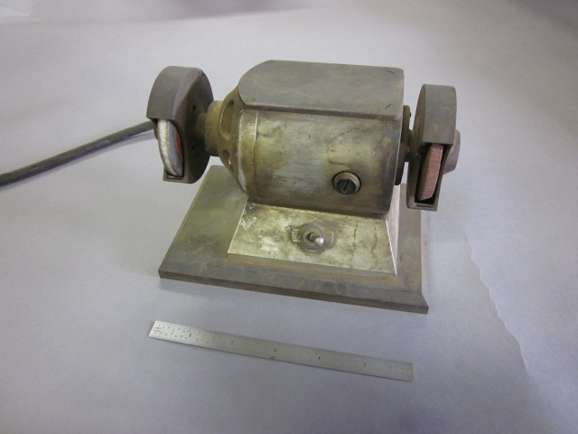 Old Mini Bench Grinder Anyone Ever Seen This Before