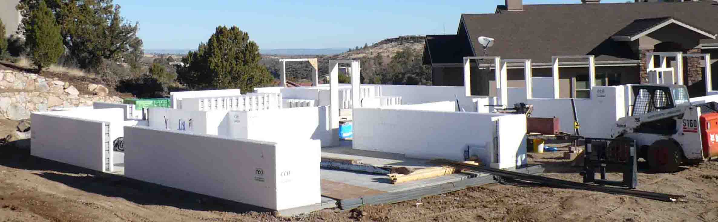 Ot icf concrete forms home construction for Icf home construction