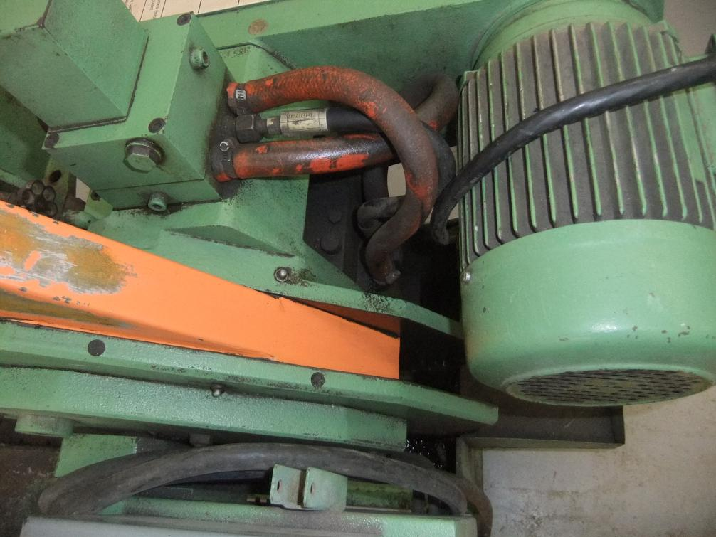 Kasto (Walter) Power Hacksaw - troubleshooting hydraulic feed