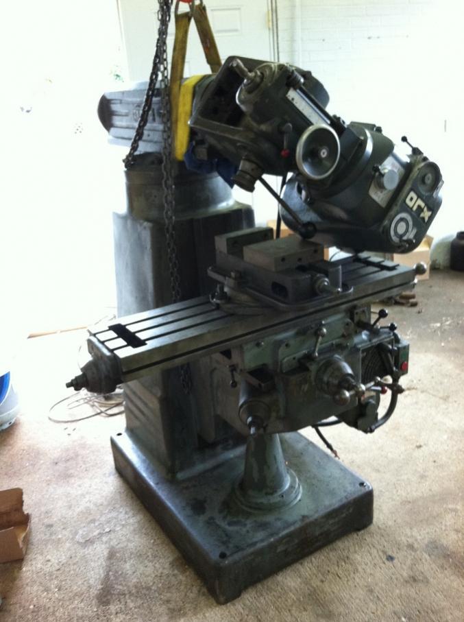 excello milling machine parts
