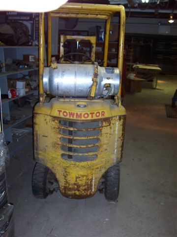 towmotor forklift rh practicalmachinist com Old Caterpillar Forklift Model Old Caterpillar Forklift Model