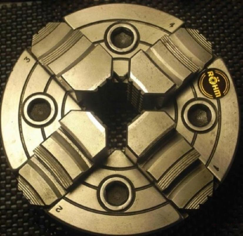 Where to Buy Replacement Rohm four Jaw Lathe Chuck Jaws