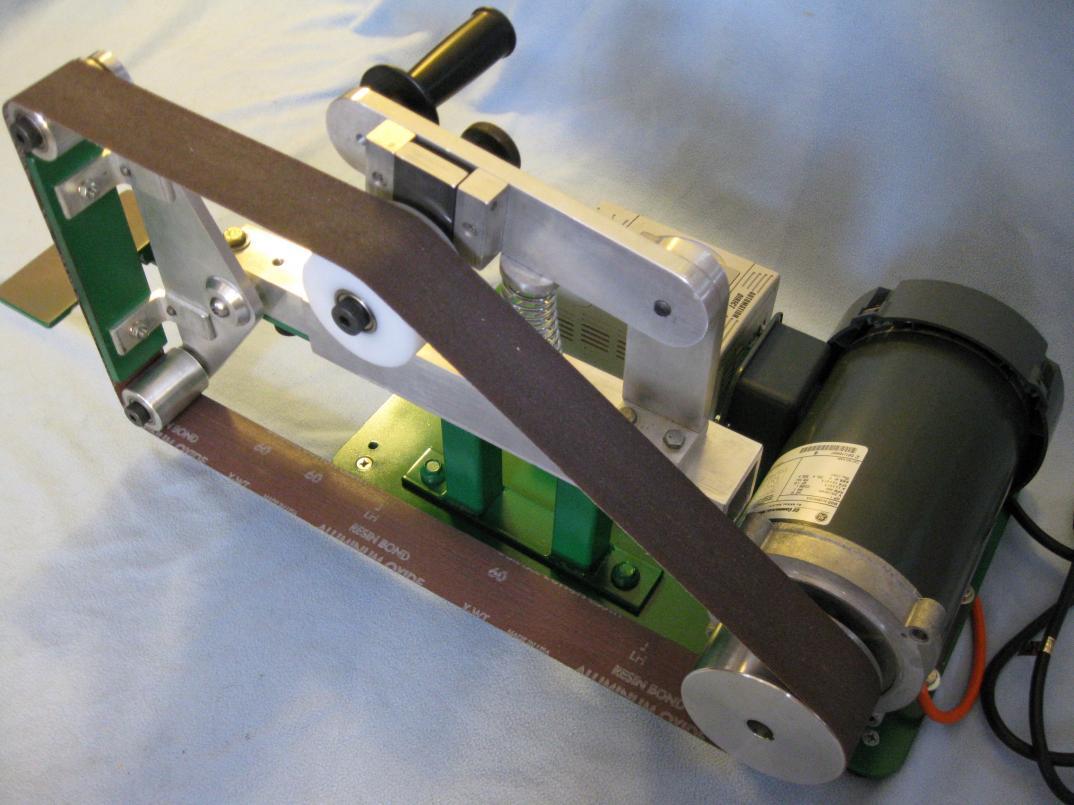 Belt sander stand