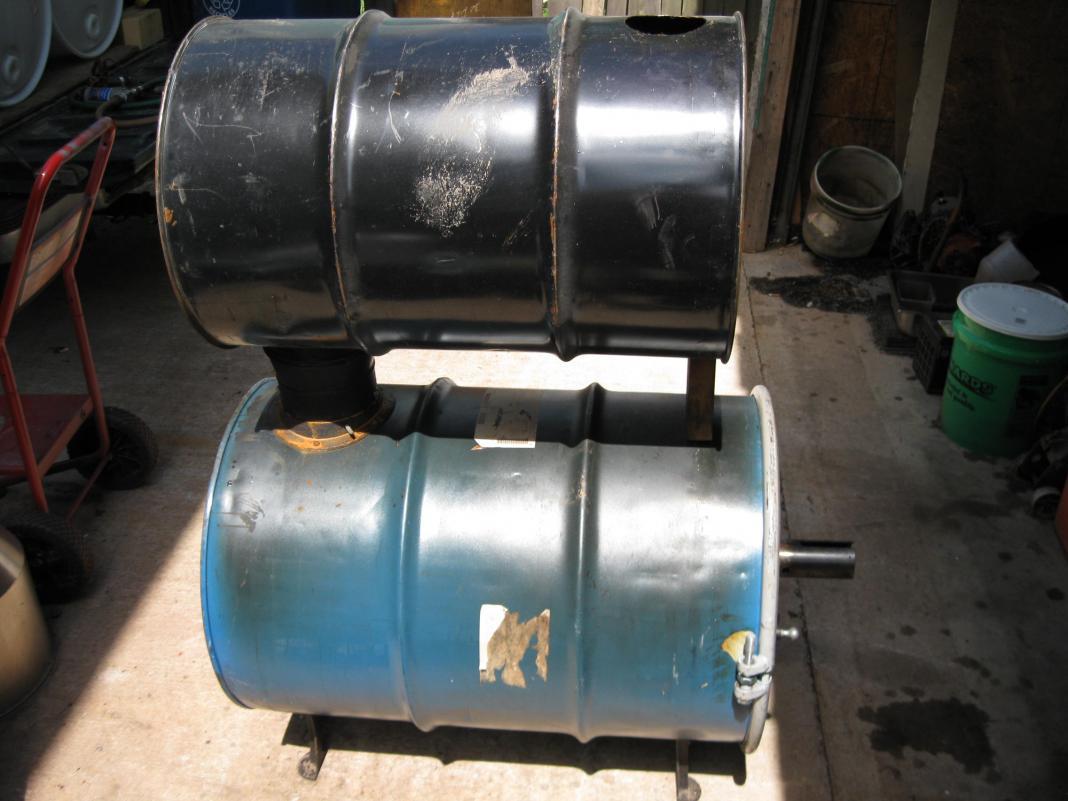 Homemade Waste Oil Heater Car Interior Design