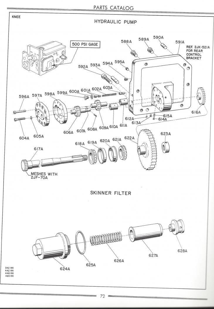 Cincinnati 2MI Vertical knee motor to knee gearbox shaft