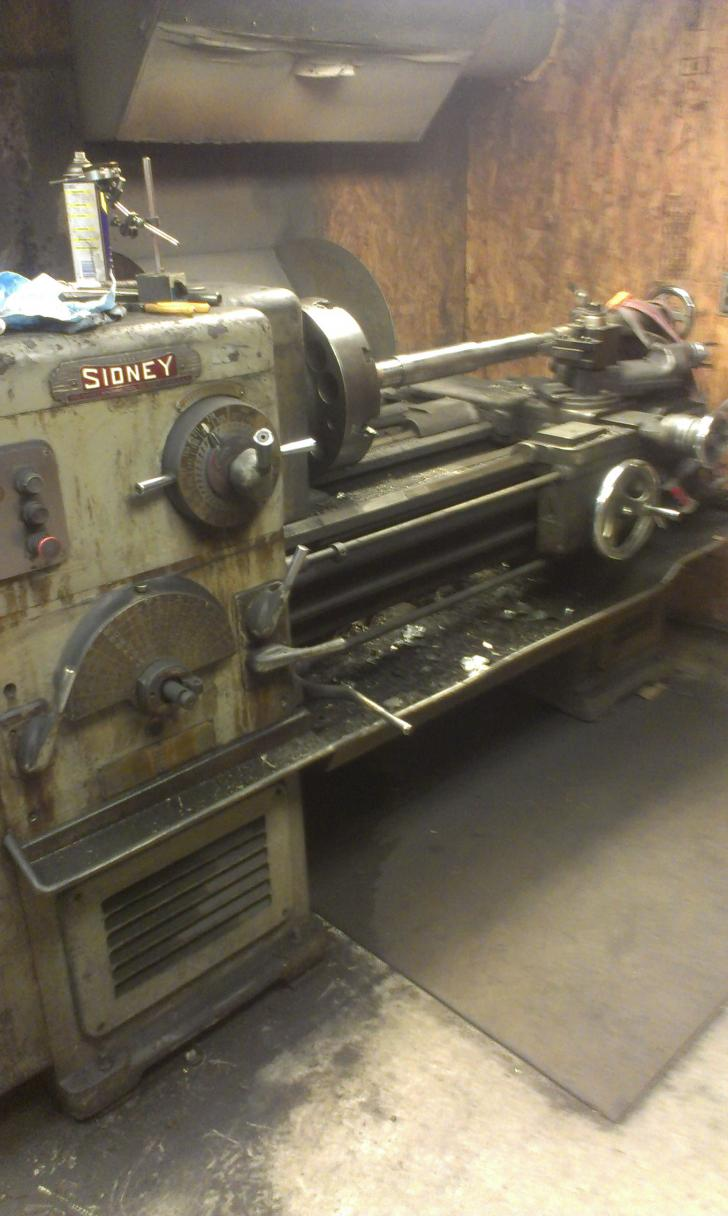 sidney lathe rh practicalmachinist com sidney lathe parts Sidney Lathe Old