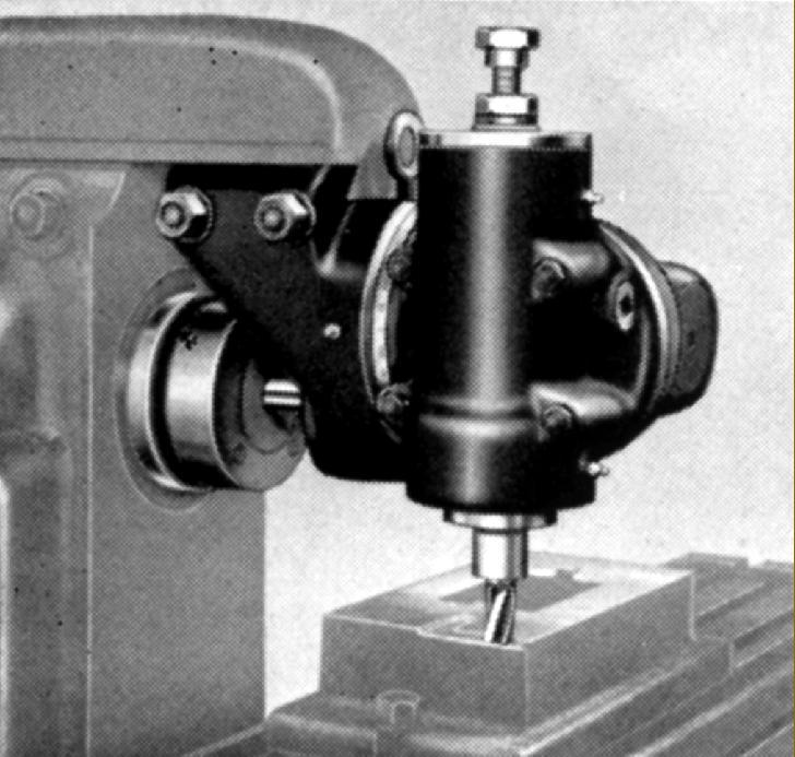 Cinci Universal Milling Attachment Parts Diagram