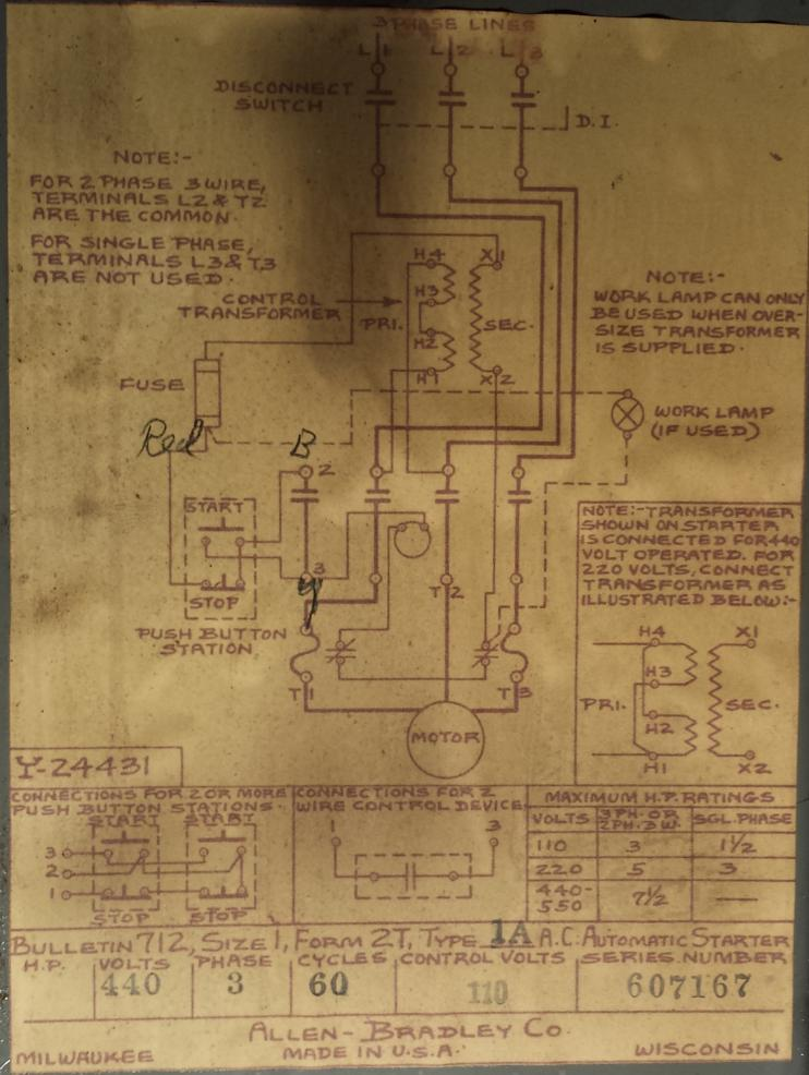 wiring diagram on my 3hp k t 2chl and an update. Black Bedroom Furniture Sets. Home Design Ideas