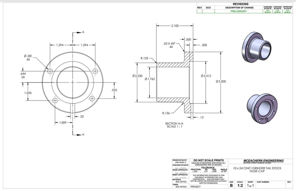 Cool Cincinnati 10 X 24 Universal Hydraulic Grinding Machine Wiring Digital Resources Attrlexorcompassionincorg