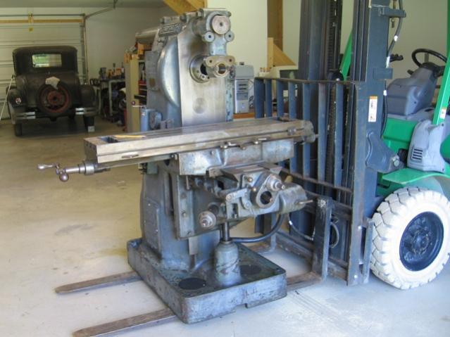 Kempsmith Milling Machine
