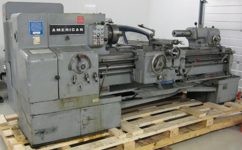 american machine tool lathe