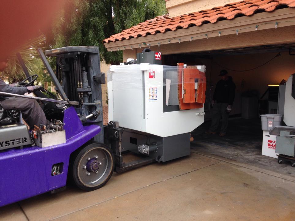 Mini Mill 2 Under A 83 Quot Garage Door Threshold