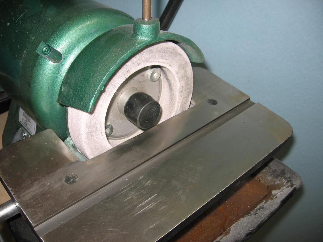 Converting carbide grinder to HSS