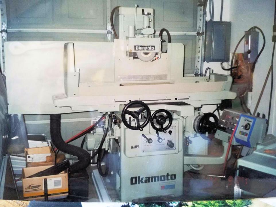 How to rig Okamoto 820 Okamoto Grinder Wiring Diagram on