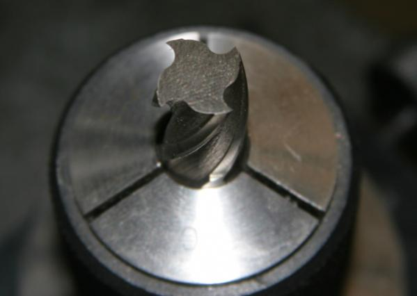 End Mill Sharpening On Surface Grinder
