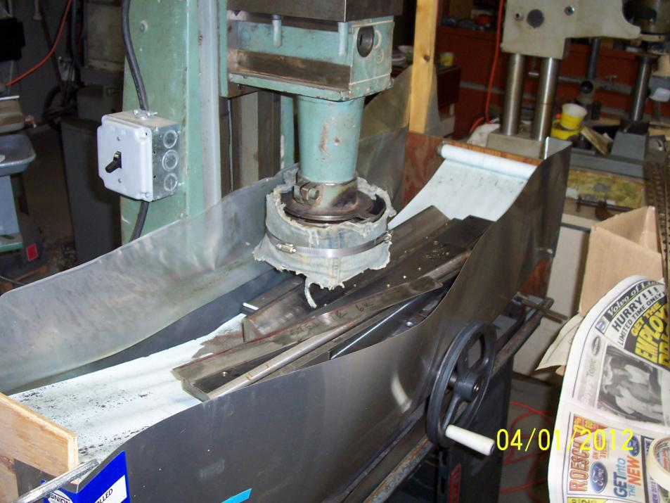 Surface Grinding Fixture For Knives