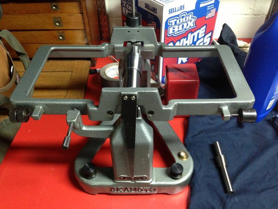Okamoto Grinding Wheel Balancer