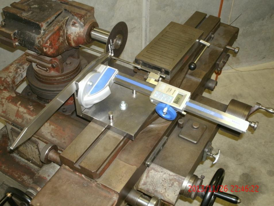 Jig For Cutting Ejector Pins