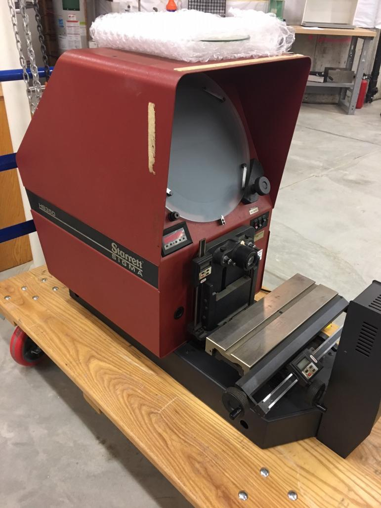 starrett hb350 optical comparator rh practicalmachinist com Car Owners Manual Car Owners Manual