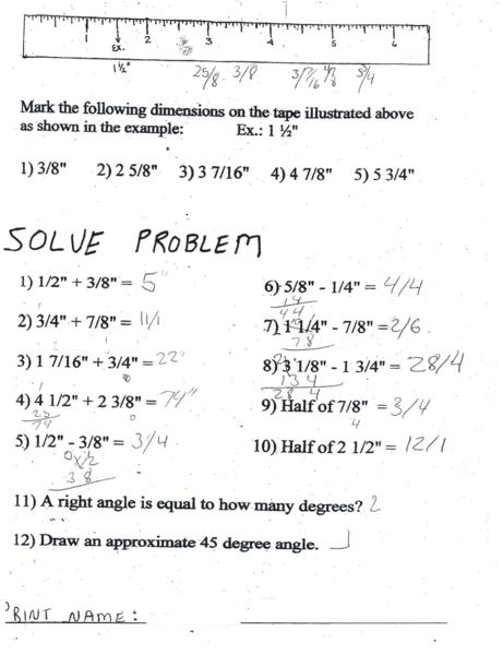 Collections of Basic Math Test For Employment, - Christmas ...