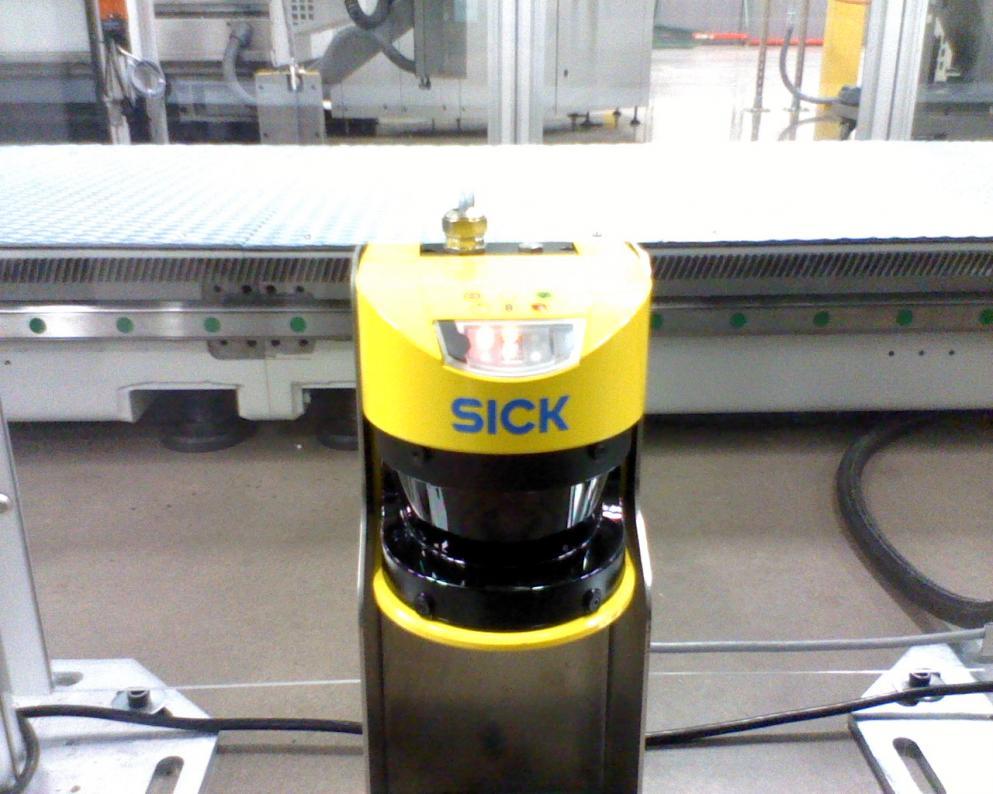 Sick Safety Scanner