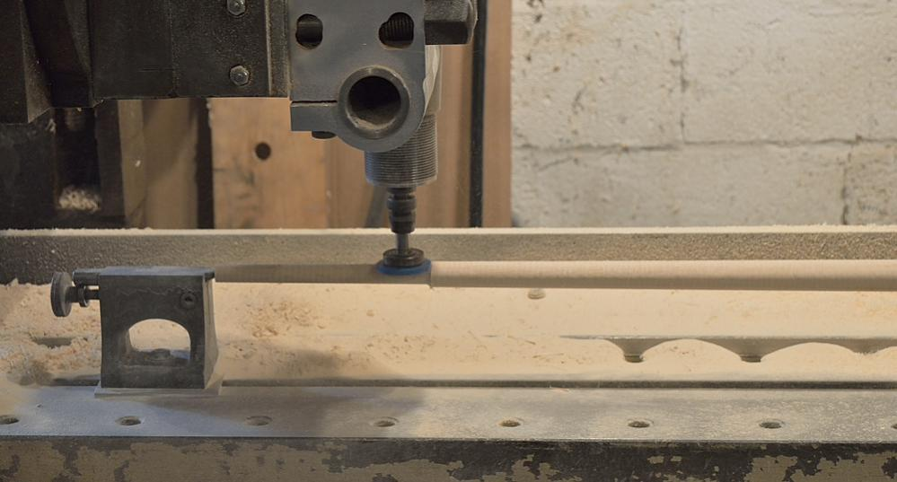 Making pool cue shaft blanks cones on the planer for Thread pool design pattern