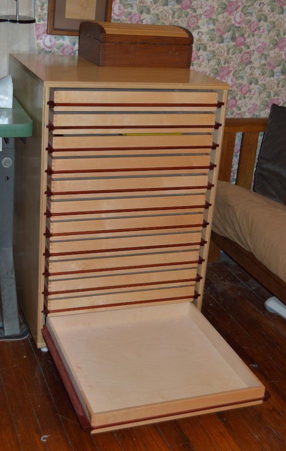 Endless Mistakes Wood Slide Tool Drawers