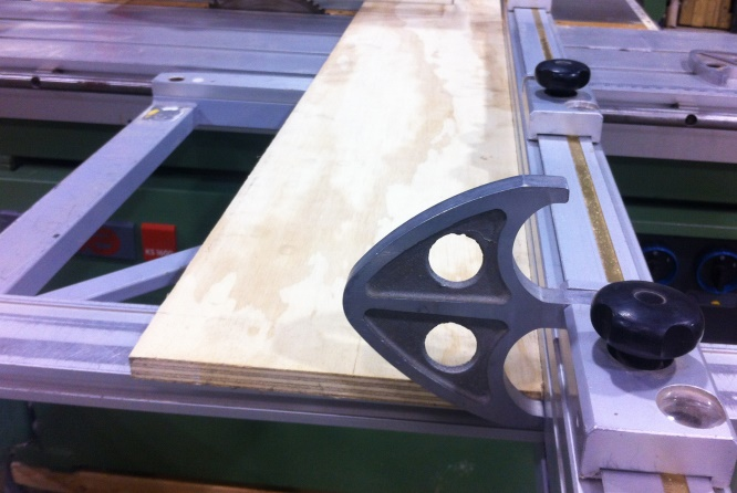 Repair Of Tablesaw Crosscut Fence Flip Stop Photos Question