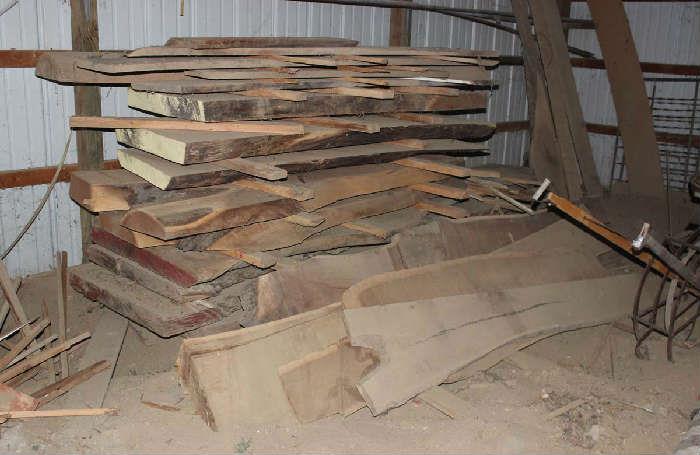 Where To Sell Lumber Black Walnut Rough Sawn Slabs 2