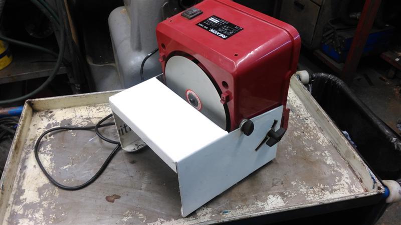 Made A Cheap Ass Carbidescraper Sharpener