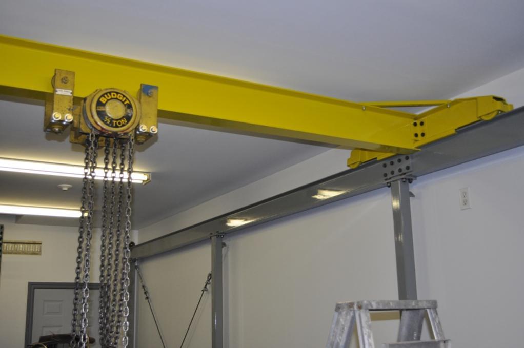 Overhead Crane Failure : Ot homemade crane failure